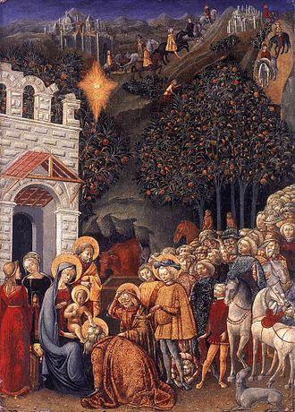 Michele Ciampanti - Adoration of the Magi