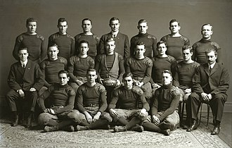 1911 Michigan Wolverines football team - Image: Michigan Wolverines football 1911