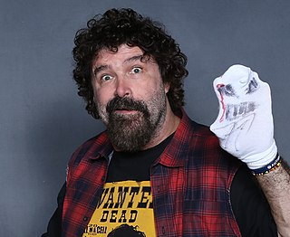 Mick Foley American professional wrestler, color commentator, actor, and author
