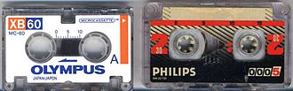 Microcassette -  Micro and mini cassettes.