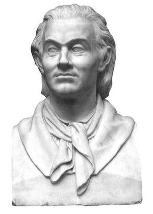 Johan Herman Wessel - Johan Herman Wessel. Bust by Norwegian sculptor Julius Middelthun (Nasjonalgalleriet)