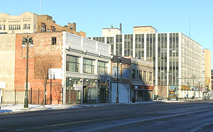 Midtown Woodward Historic District - Image: Midtown Woodward Historic District west side Woodward