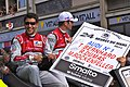 Mike Rockenfeller Le Mans drivers parade 2011.jpg