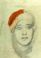 Mikhail Vrubel - Womans Head (1885).png