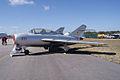 Mikoyan-Gurevich MiG-15UTI Midget LSide TICO 13March2010 (14412889049).jpg