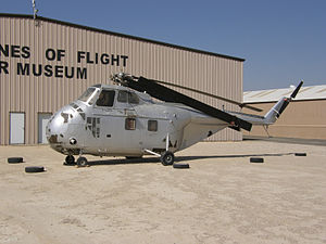 Sikorsky H-19 Chickasaw - UH-19B at the Milestones of Flight Museum, Fox Field, Lancaster, California