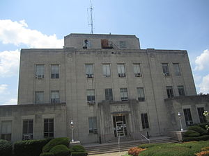 Miller County, Arkansas - Image: Miller County Courthouse, Texarkana, AR IMG 6379