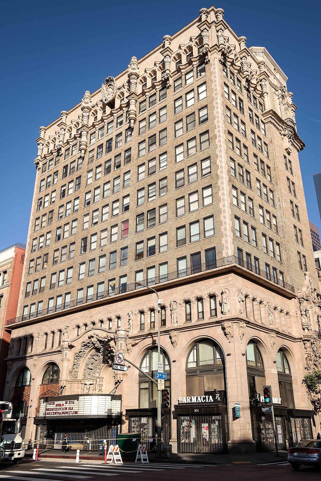 Million Dollar Theatre Historic Core LA