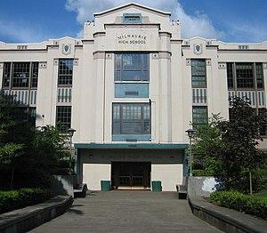 Milwaukie High School - Image: Milwaukie High School Front
