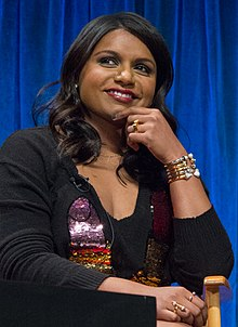 Mindy Kaling at PaleyFest 2013 (cropped).jpg