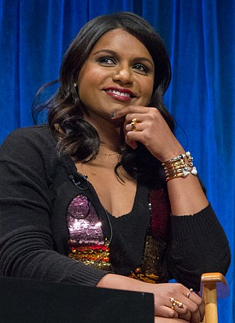 Mindy Kaling - Kaling at Paleyfest in 2013
