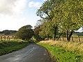 Minor road, Cowieslinn - geograph.org.uk - 1014020.jpg