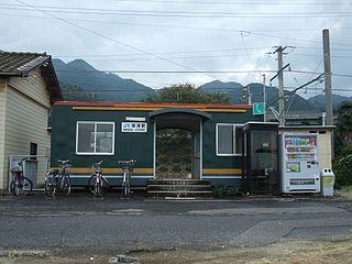 Minoura Station Railway station in Kaonji, Kagawa Prefecture, Japan