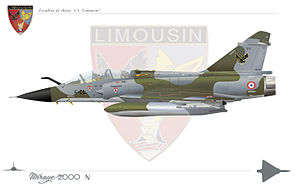 Istres-Le Tubé Air Base - Image: Mirage 2000Nimousin
