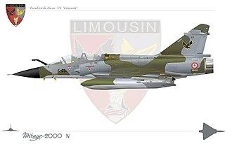 Istres-Le Tubé Air Base - Image: Mirage 2000Nimousin