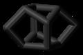 Mirex molecule skeletal.png