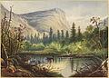 Mirror Lake, Mount Walkins, Yosemite, California (Boston Public Library).jpg