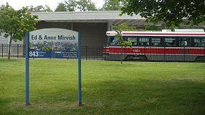 Bathurst station (Toronto) - Image: Mirvish Parkette 843 Bathurst
