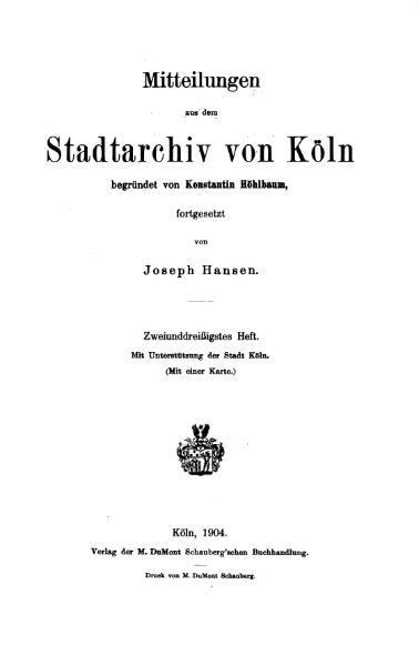 File:Mitteilungen aus dem Stadtarchiv von Köln 1904-32.djvu