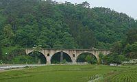 Miyamorigawa-Kyoryo Bridge Iwate Japan.jpg