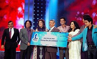 Fahmida Nabi - Image: Mohammad Mosaddak Ali handed over Close Up 1 2012 prize at Bangabandhu International Conference Centre in Dhaka, Bangladesh