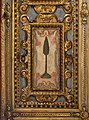 Monsummano, santuario di fontenuova, interno, soffitto ligneo di giovanni desideri, 1603-10 ca., attributi mariani di muzio vanni 14 cipresso.jpg