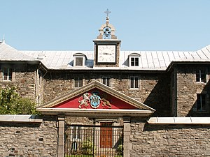 Society of the Priests of Saint Sulpice - Saint-Sulpice Seminary in Old Montreal.