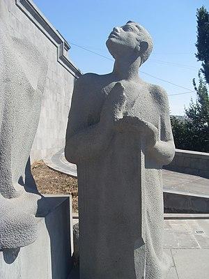 Koryun - Image: Monument of Mesrop Mashtots (9)