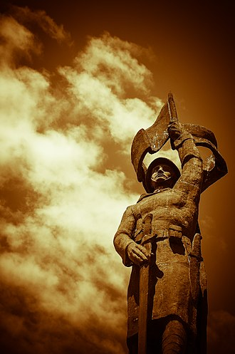 Adjud - Monument to victims of World War I