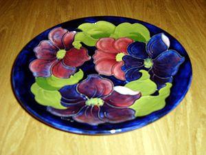 Moorcroft - Image: Moorcroft Dish