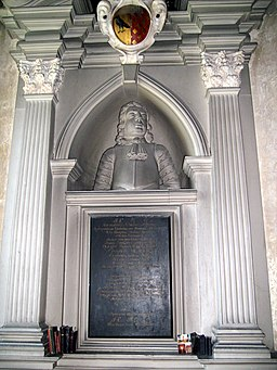 Moreton Corbet church Richard Corbet 1691