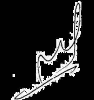 Moria Casán - Image: Moria Casán signature