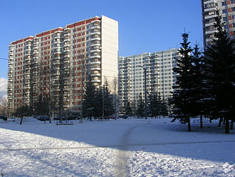 1980 Summer Olympics - Olympic Village in February 2004