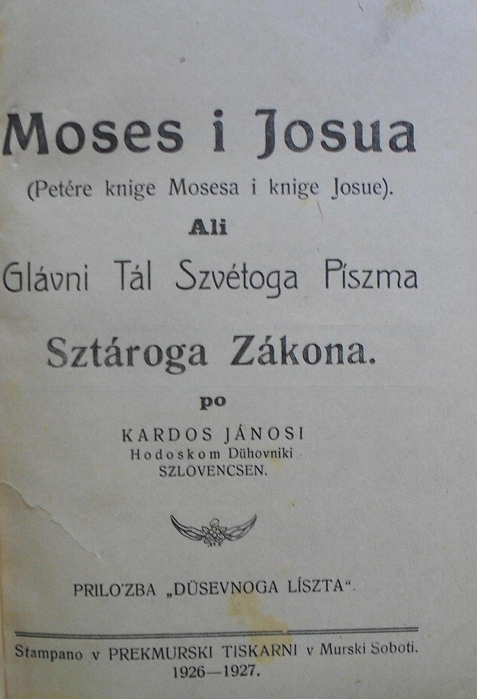 Moses i Josua