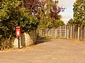 Motcombe, postbox No. SP7 6, Elm Hill - geograph.org.uk - 1508626.jpg