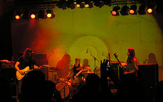 2008 in Norwegian music - Motorpsycho 2008 in Steinkjer.