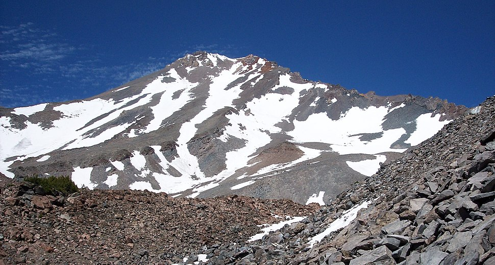 Mount Shasta west face