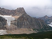 Massiv des Mount Edith Cavell mit Angel Glacier, Jasper-Nationalpark, Alberta