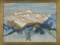 Mountains. Study from Switzerland (Anna Boberg) - Nationalmuseum - 20527.tif