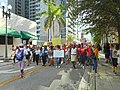 Moveon.org Anti Trump Family Separation Protests - Miami Dade College, Miami Florida 05.jpg