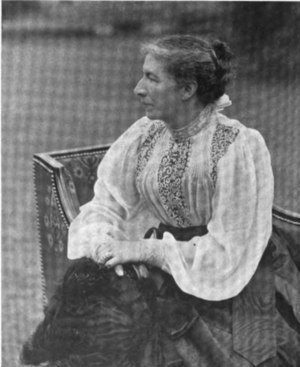 Ethel Arnold - Her sister Mrs Ward by Arnold in 1898