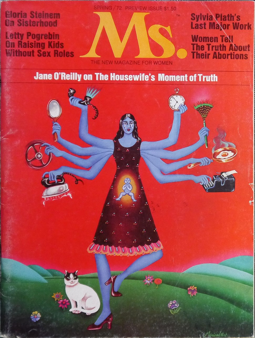 Ms. magazine Cover - Spring 1972