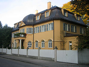 Ukrainian Catholic Apostolic Exarchate of Germany and Scandinavia - A building, situated in Munich, belonging to the Apostolic Exarchate