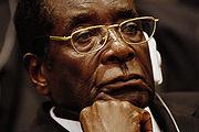 Robert Mugabe Image:  Jeremy Lock.
