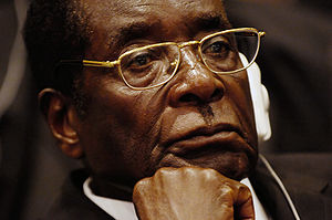 300px Mugabecloseup2008 DISGRACE:  Zimbabwe Down to Its Last $217 in Government Coffers