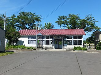 Mukai-Noshiro Station - Mukai-Noshiro Station, June 2017