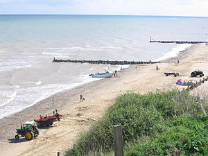 Mundesley - Image: Mundesley Beach In Summer(Stephen Craven)Aug 2006