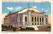 Municipal Auditorium and Convention Hall, 34th Street, below Spruce, Philadelphia, Pa (61770).jpg
