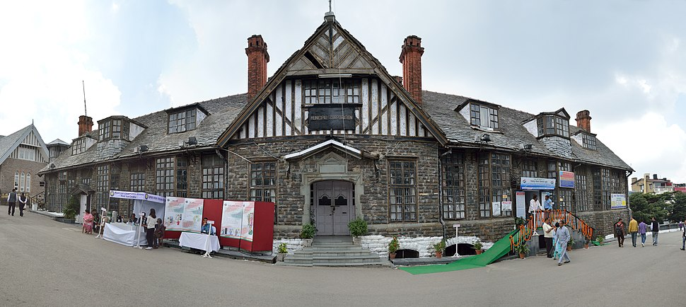 Municipal Corporation Building - Ridge - Shimla 2014-05-07 0941-0945 Compress