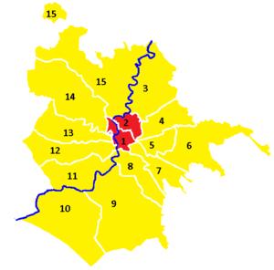 Rome municipal election, 2016 - Image: Municipi Roma 2016